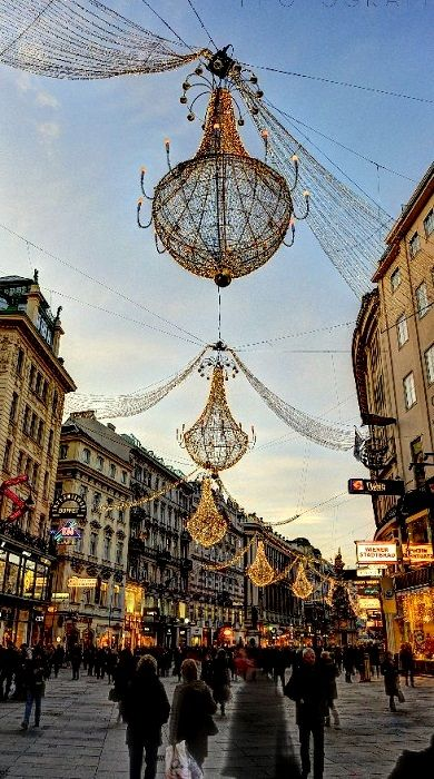 Vienna at Christmas Time, Austria (by Denise Vitarelli Gabriele Ottaviani on 500px)