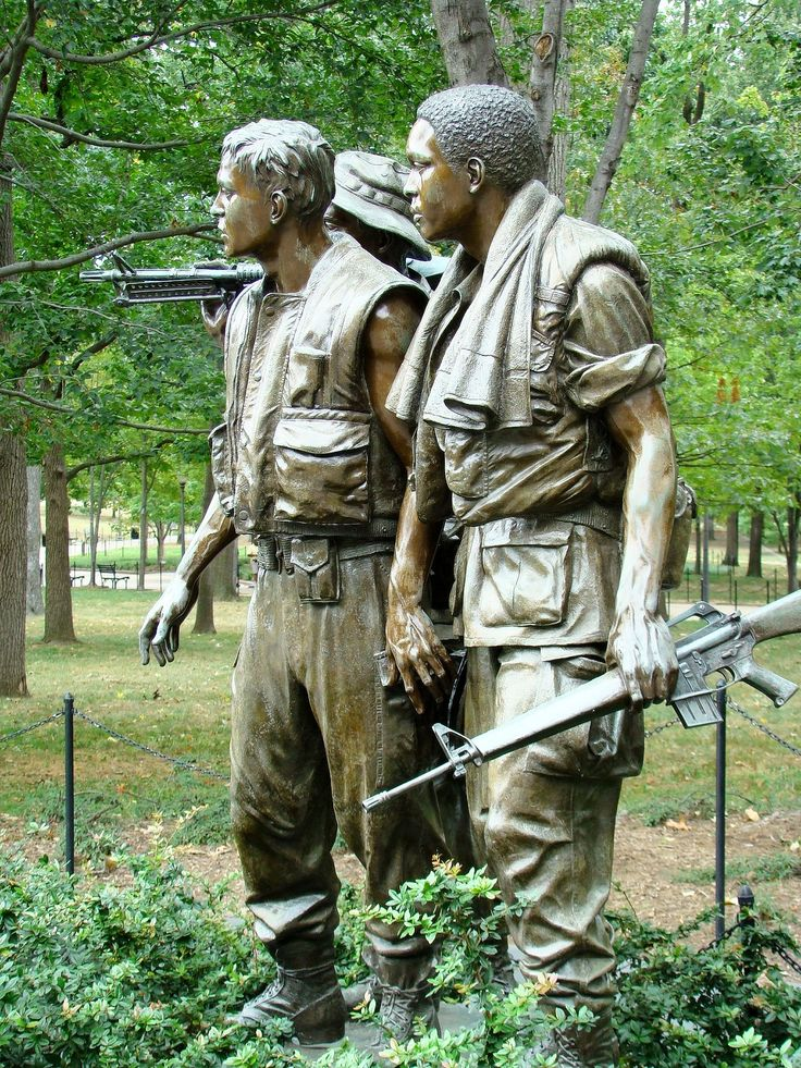 War Memorial Washington DC Vietnam | Those that serve past and presen ...