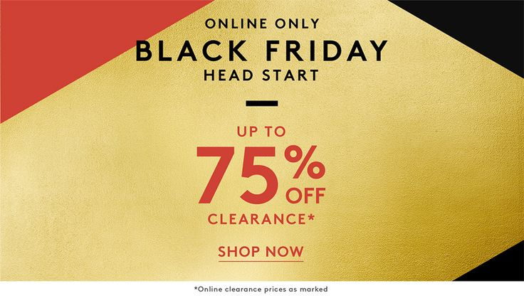 Nordstrom Rack Black Friday  [affiliate link]