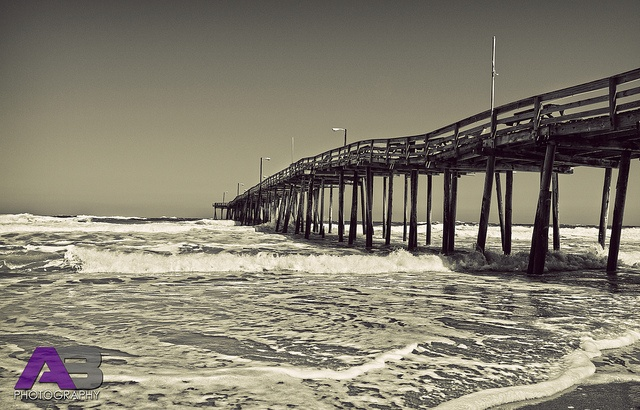 Nags head fishing pier outer banks n c banks outer for Fishing outer banks nc