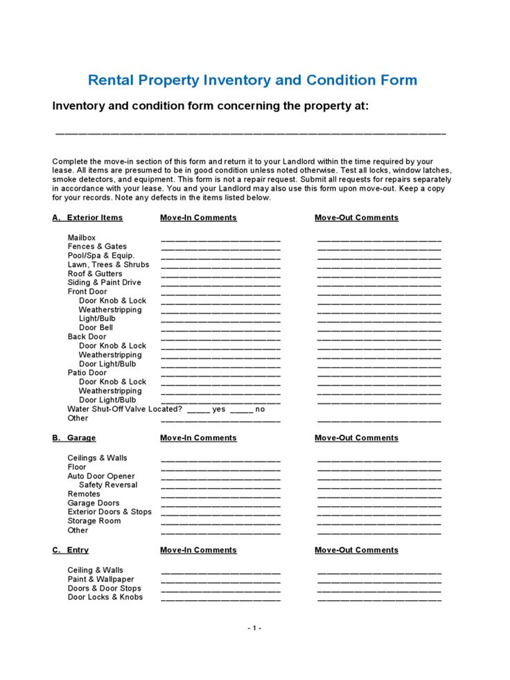 inventory checklist template free templates pdf word excel download