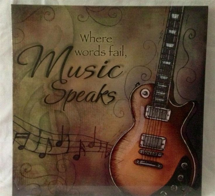 Music Themed Home Decor Media Theatre Room Music Canvas