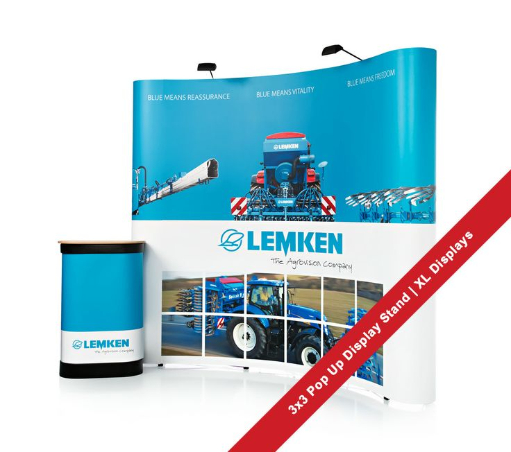Exhibition Stand Lighting Xl : Pop up stand for lemken agrovison exhibition