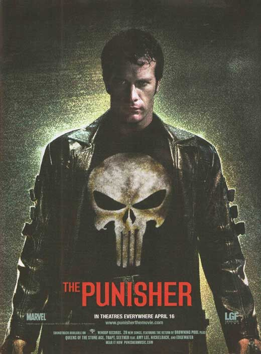 The Punisher 11x17 Movie Poster (2004)