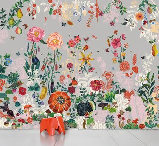 Jardin Gris wallpaper