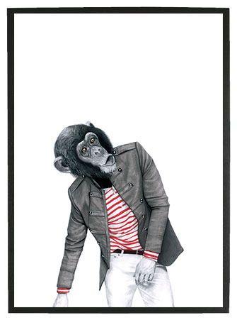 Monkey Business - SWART by Sanna Wieslander