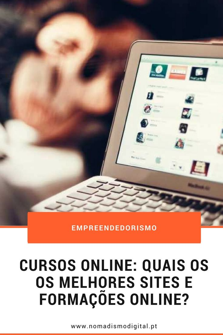 Aprende remotamente com os melhores cursos online - Nomadismo Digital