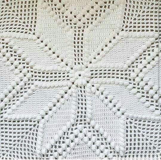 Yıldız Popcorn Büyük Motif Yapılışı ,  #crochetblanket #örgübattaniye #popcornblanket #tığişibattaniye , Çok çok güzel bir örnek. Yapılışını o kadar çok aradım ki yıldız popcorn büyük motif yapılışının. Sonunda şemasını buldum. Şem...
