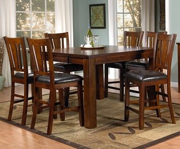 Pub style dining table kitchen ideas pinterest for Pub style dining sets