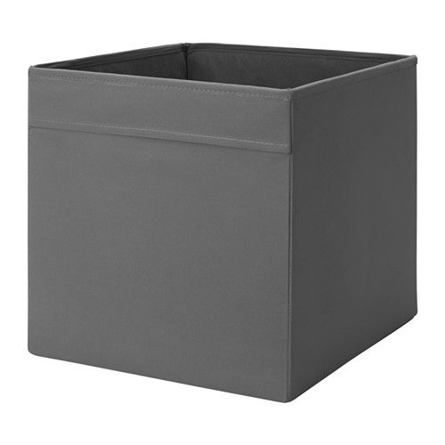 DRÖNA Box IKEA Perfect for everything from newspapers to clothes. Easy to pull out as the box has handles on both sides.