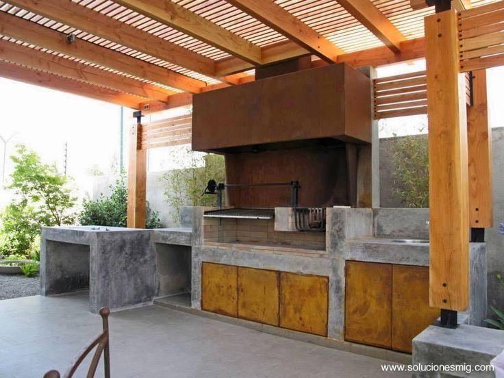 17 mejores ideas sobre asadores de ladrillos en pinterest for Asadores contemporaneos jardin