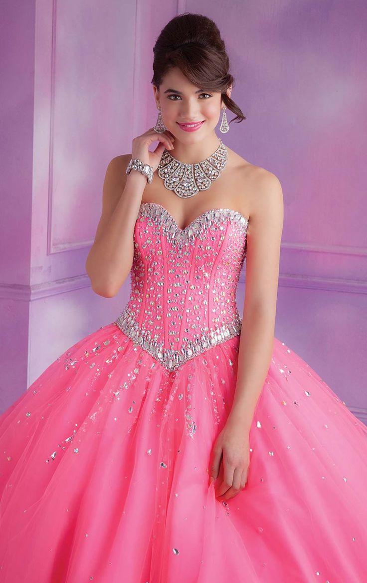 29 best vestidos de quince images on Pinterest | Quince dresses ...