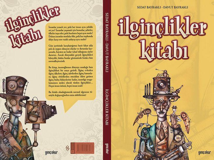 İlginçlikler Kitabı. Cover illustration by Eugene Ivanov #book #cover #bookcover #illustration #eugeneivanov  #@eugene_1_ivanov
