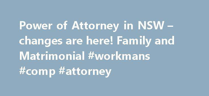 power of attorney form nsw pdf