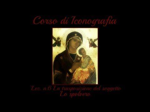 Corso di Iconografia,Lez. n.16 (L'Olifa:la stesura) - Arte per Te - YouTube