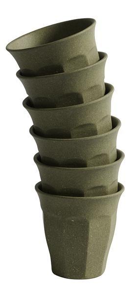 Bamboo Mug, Olive