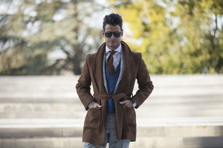 """Fourth picture in Frank Gallucci's blog post """"First day at Pitti""""."""
