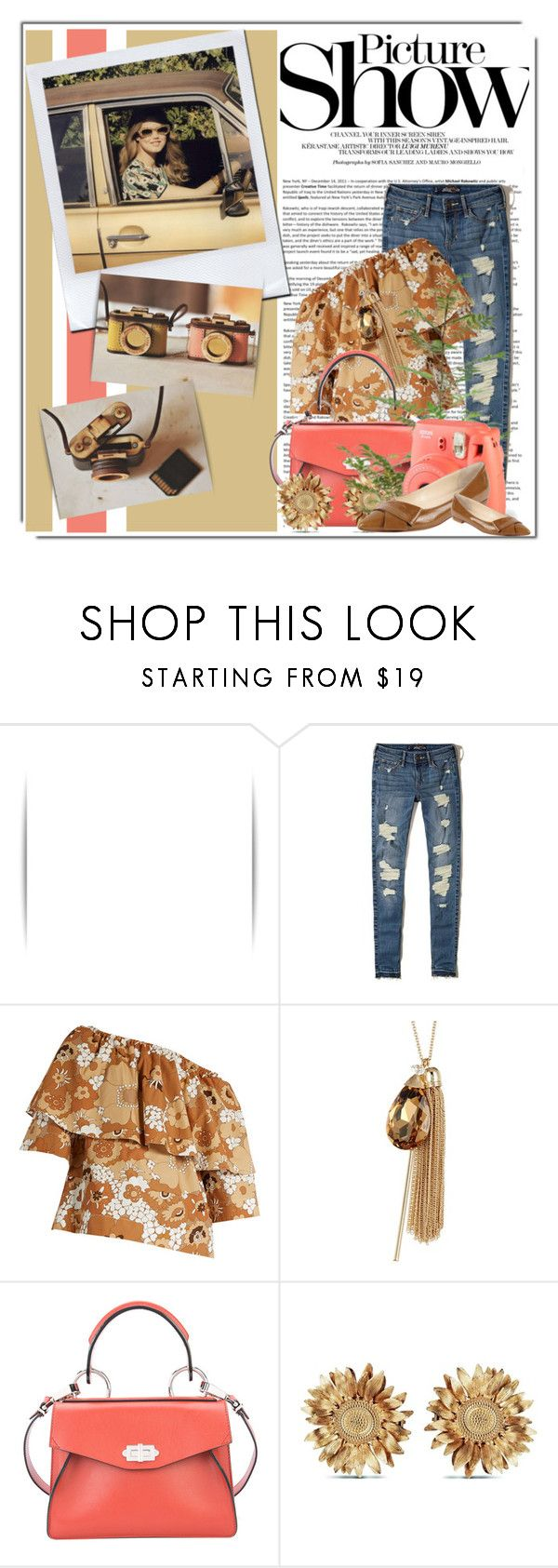 """Picture Show"" by queenrachietemplateaddict ❤ liked on Polyvore featuring SANCHEZ, Avenue, Hollister Co., Chloé, Natasha, Proenza Schouler, Asprey, DUBARRY and Butter Shoes"