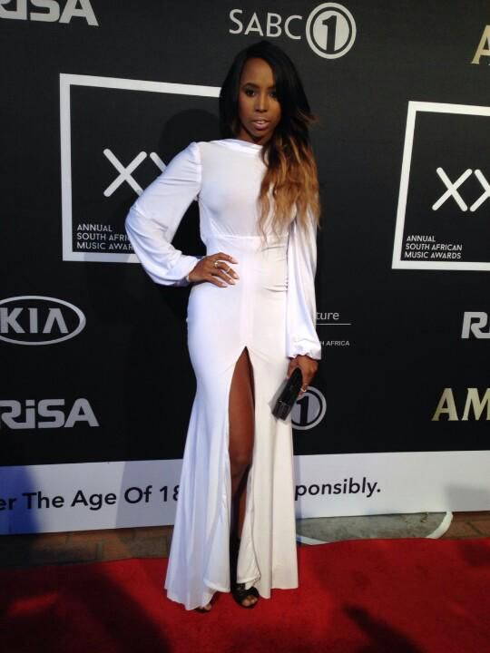 Denise Zimba Was Angelic In White