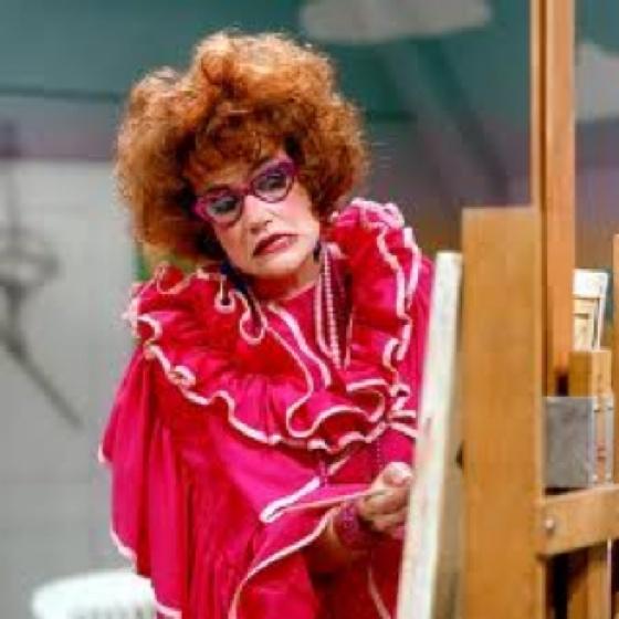 En een kloddertje roze hierrr, tante Till