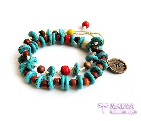#gypsy stack bracelets #bohemian jewelry #boho style
