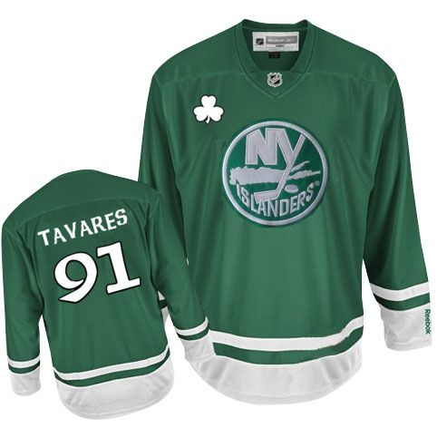 New York Islanders John Tavares 91 Green Authentic Jersey Sale