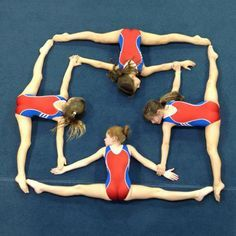 Cool gymnastics shape...#gymnastics