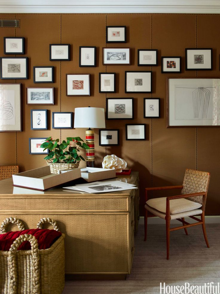 Beautiful 16 Windowless Home Office Design Photos