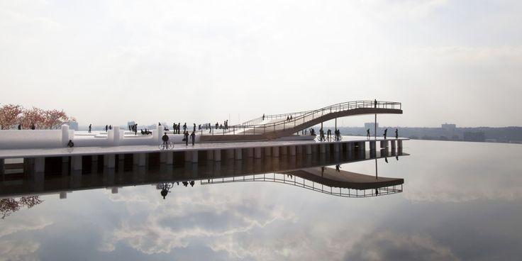 BIG+Designs+Pier+6+Viewing+Platform+for+Brooklyn's+Waterfront