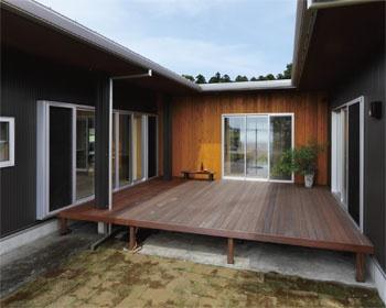 栃木のイケダ工務店建築実例ウッドデッキが・・・:栃木のハウスメーカー・工務店ナビ