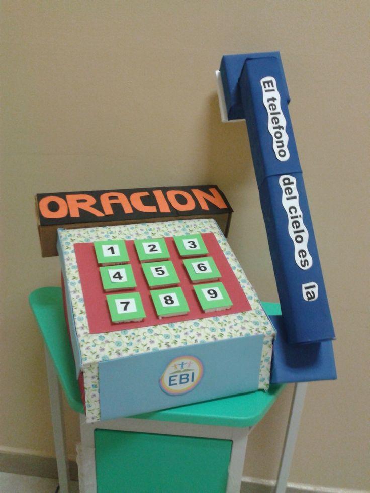 Image result for manualidades para niños sobre la oracion a dios
