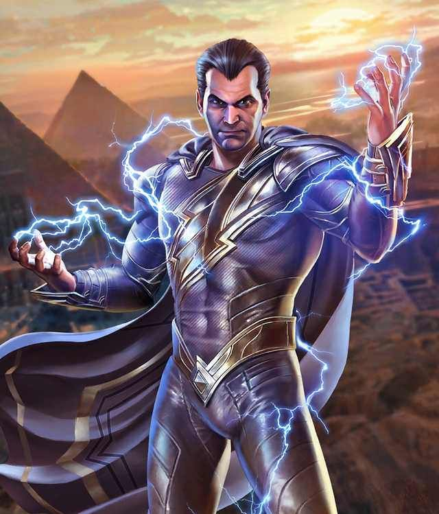 Injustice 2 Mobile Roster Superhero Comic Captain Marvel Shazam Injustice 2
