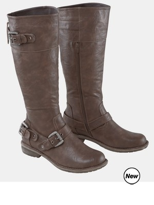 Nine West Chocolate Brown Riding Boots