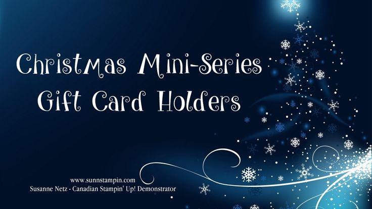 Christmas Gift Card Holder #1