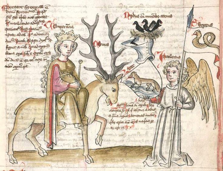 Speculum humanae salvationis. Memento mori-Texte [u.a.] Bayern - Österreich, I: zwischen ca. 1440 - 1466, II: um Mitte 15. Jh., III: 2. Viertel 15. Jh. Cgm 3974  Folio 84