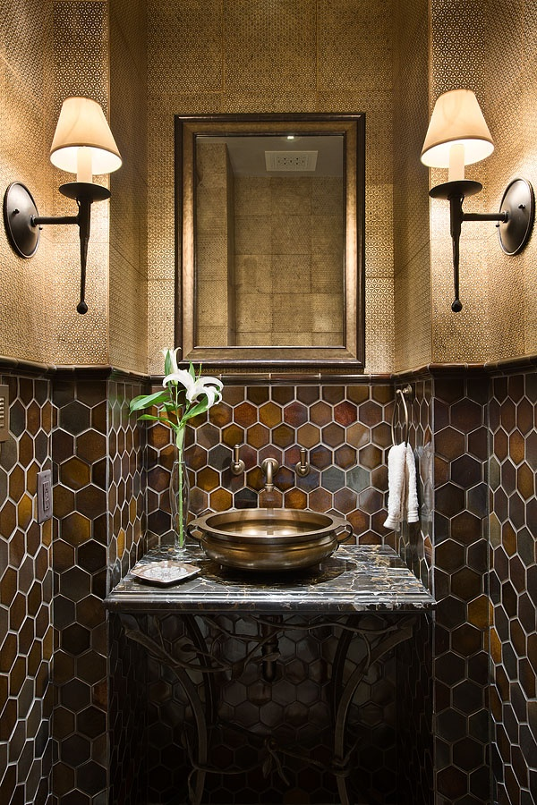 Love This Bathroom The Tile And Textures Are Great
