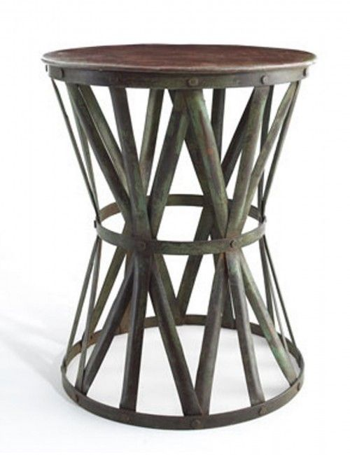 Rustic outdoor side table is the most standard decision