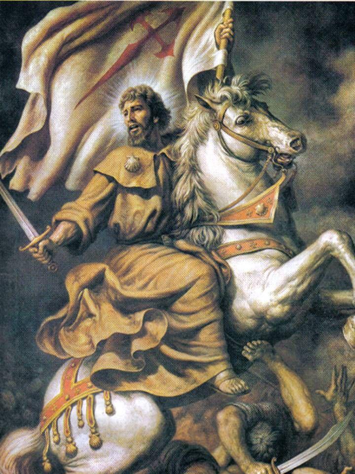 ORACIONES DE LOS SANTOS PARA PETICIONES: ORACION A SANTIAGO APOSTOL, EL MAYOR, PARA PEDIR PROTECCION Y DEFENSA