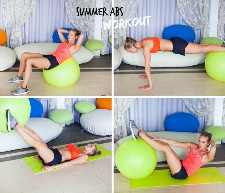 Summer abs workout
