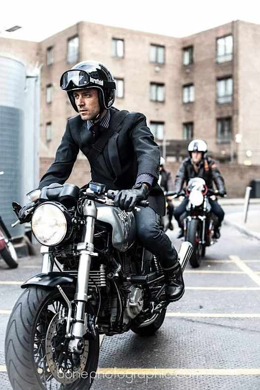 Distinguished Gents Ride 2013 #riding #motos #motorcycles | caferacerpasion.com