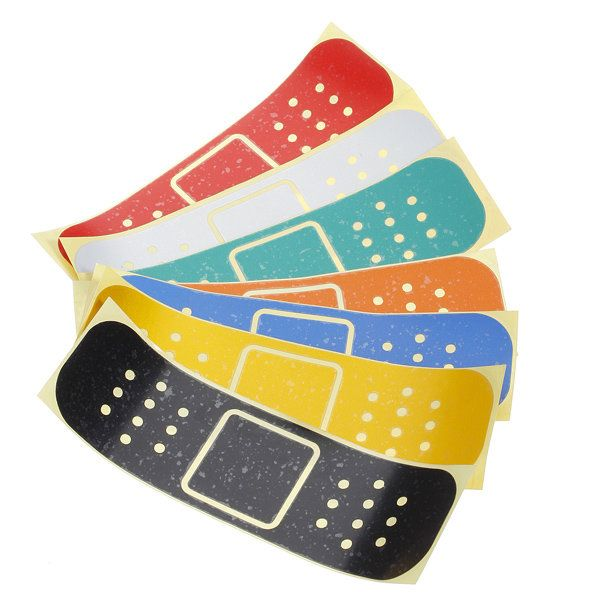 Bandaid Decal Car Window Bumper Sticker Graphic Bandage Band Aid