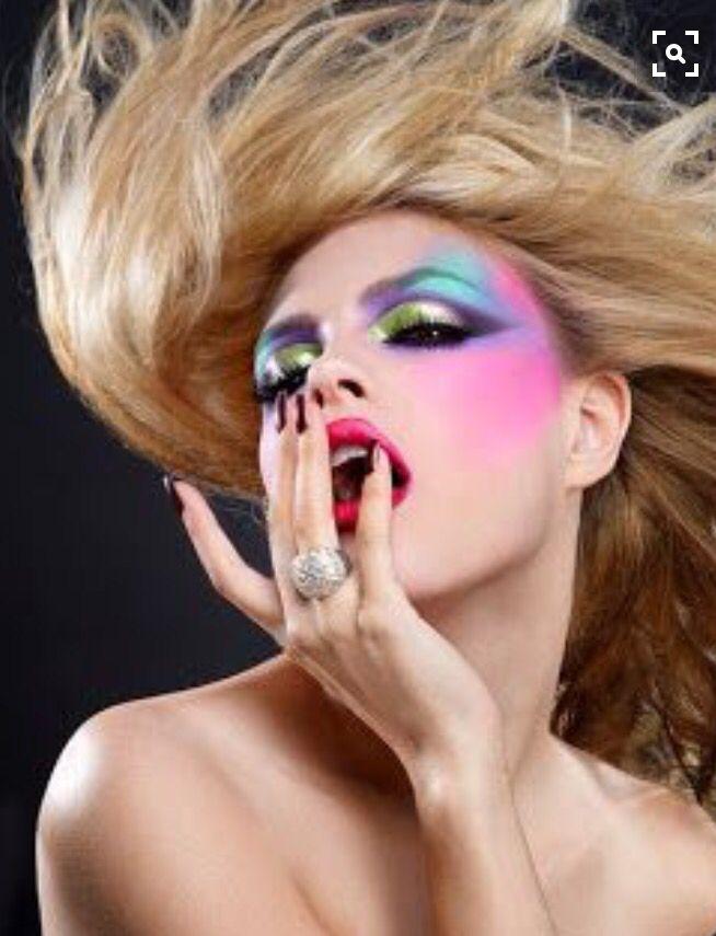 Jaren 80 make-up ✨
