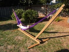DIY Hammock Frame Instructions I might actually be able to make this myself!!