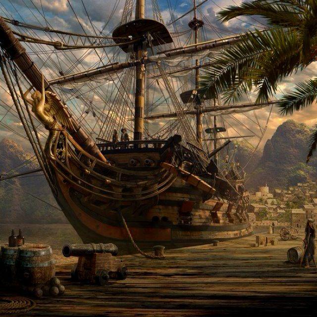 #pirate #ship                                                                                                                                                     More