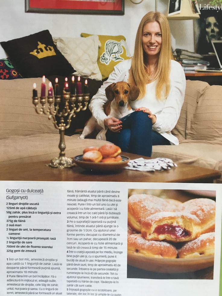 A dear interview taken by Cristina Mazilu & Oana Titica for Good Food magazine, December 2013. Hanukah all the way, Shlomo and Holidays smells.