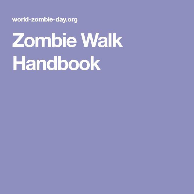 Zombie Walk Handbook