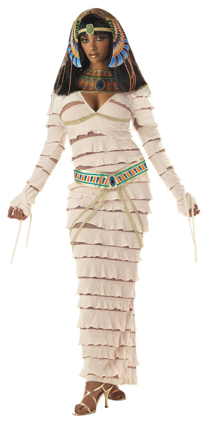 Egyptian Mummy Queen All White Could Be A Problem On