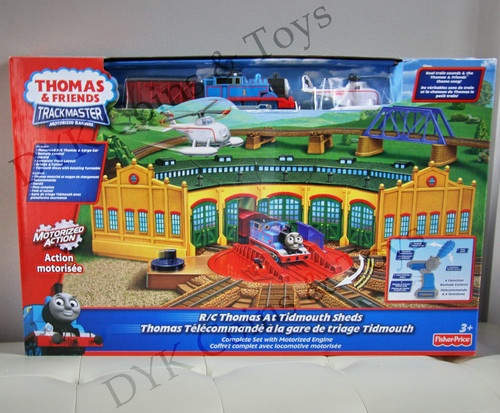Trackmaster Thomas At Tidmouth Sheds Fischer Price 4 Doors Tomy 5 Doors Which Set Is He