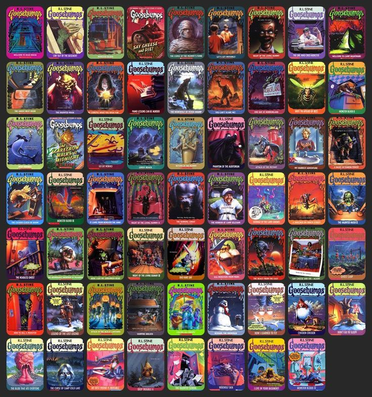 Image result for goosebumps series