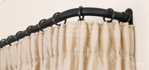 Cameron Fuller  French poles from Cameron Fuller are an interesting alternative to simple curtain poles, perfect for a quick update for your windows, and a lovely, adaptable design to play around with if you want to change your style.